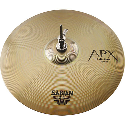 Sabian APX Solid Hi-Hat Cymbal Pair