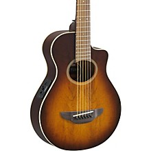 APX Thinline 3/4 size Acoustic-Electic Guitar Tobacco Sunburst