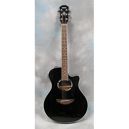 used yamaha apx500 black acoustic electric guitar guitar center. Black Bedroom Furniture Sets. Home Design Ideas