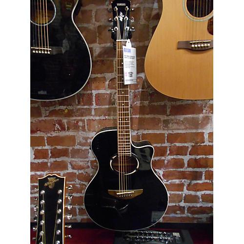Yamaha APX500 Black Acoustic Electric Guitar-thumbnail