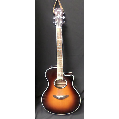 used yamaha apx500 ovs acoustic electric guitar guitar. Black Bedroom Furniture Sets. Home Design Ideas