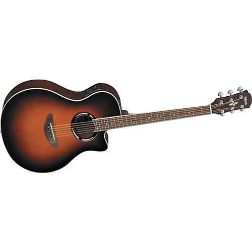 yamaha apx500 thinline acoustic electric cutaway violin sunburst guitar center. Black Bedroom Furniture Sets. Home Design Ideas
