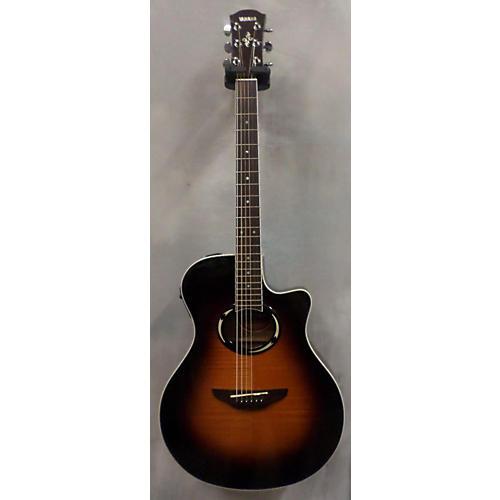 Yamaha APX500FM OVS 2 Color Sunburst Acoustic Electric Guitar-thumbnail