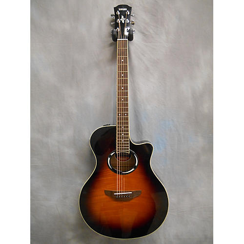 used yamaha apx500ii acoustic electric guitar guitar center. Black Bedroom Furniture Sets. Home Design Ideas