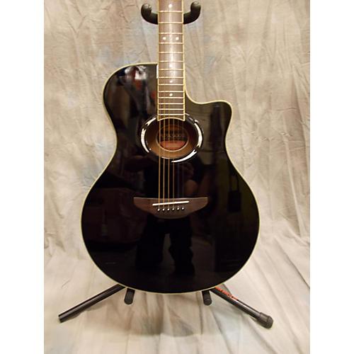Yamaha APX500II Black Acoustic Electric Guitar-thumbnail