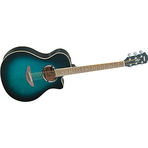 Yamaha APX500II Thinline Cutaway Acoustic-Electric Guitar-thumbnail