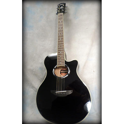 Yamaha APX500III Black Acoustic Electric Guitar-thumbnail