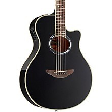 Yamaha APX500III Thinline Cutaway Acoustic-Electric Guitar Level 1 Black
