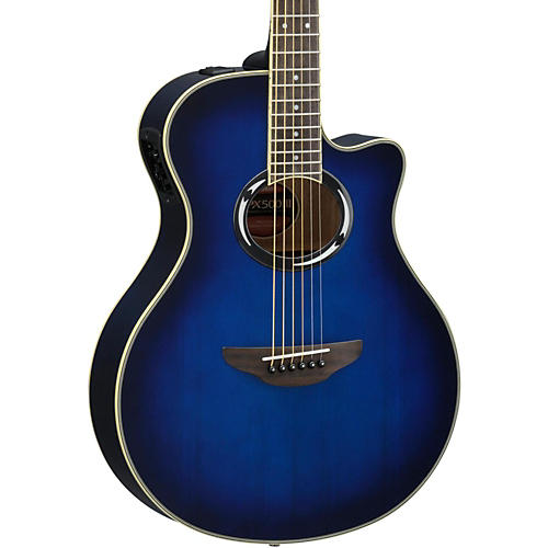 Yamaha APX500III Thinline Cutaway Acoustic-Electric Guitar