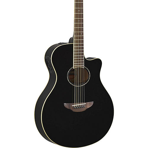 yamaha apx600 acoustic electric guitar black guitar center. Black Bedroom Furniture Sets. Home Design Ideas