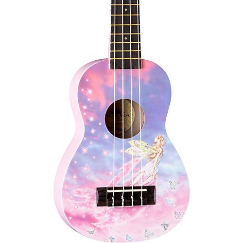 Luna Guitars AR2 Aurora Ukulele Faerie Graphic
