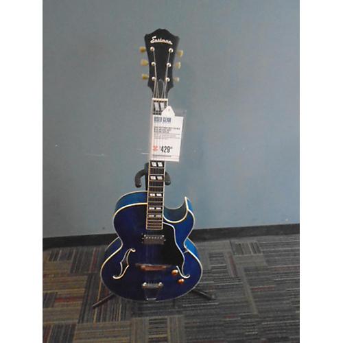 Eastman AR371CE-BLU Hollow Body Electric Guitar-thumbnail