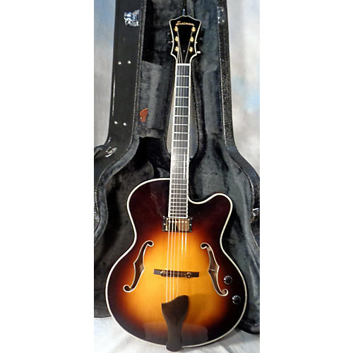 used eastman ar810ce hollow body electric guitar sunburst guitar center. Black Bedroom Furniture Sets. Home Design Ideas