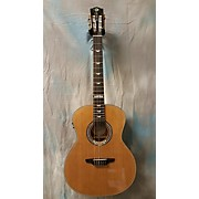 Luna Guitars ART DECO NYLON GA Classical Acoustic Guitar