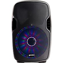 Gemini AS-10BLU-LT 10 in. Powered Bluetooth Speaker with LED Lights
