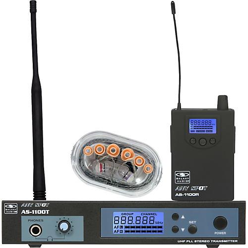 Galaxy Audio AS-1106 UHF Wireless Personal Monitor System-thumbnail