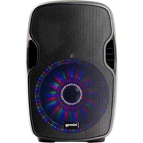 Gemini AS-12BLU-LT 12 in. Powered Bluetooth Speaker with LED Lights-thumbnail