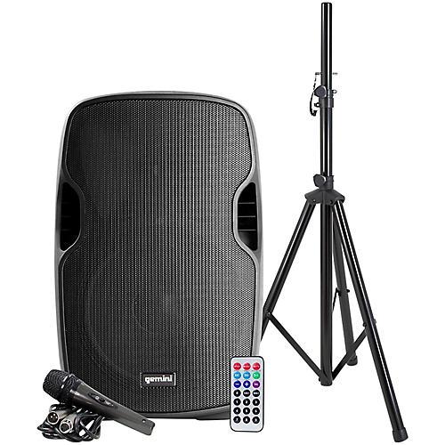 Gemini AS-12BLU-PK 12 in. Powered Bluetooth Speaker Package-thumbnail