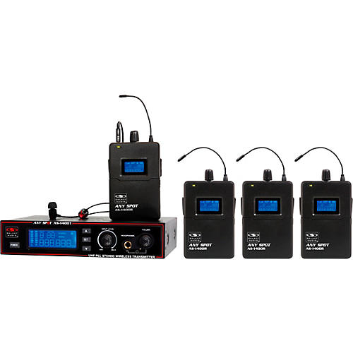 Galaxy Audio AS-1400 Band Pack Wireless Personal Monitors