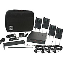 Galaxy Audio AS-1800-4 Band Pack Wireless System Level 1 Freq. Code B3