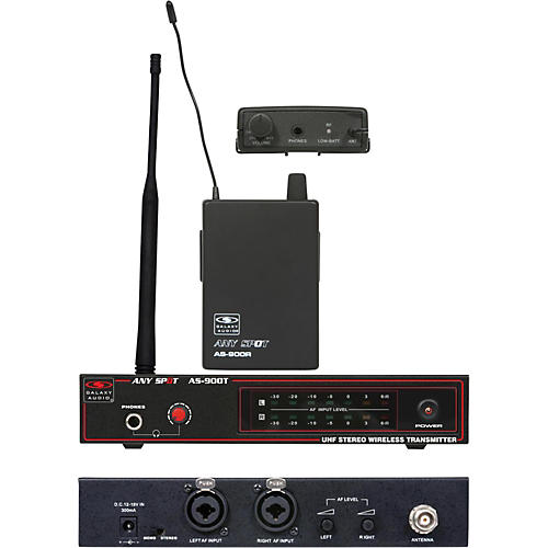 Galaxy Audio AS-900 Wireless Personal System Band K5