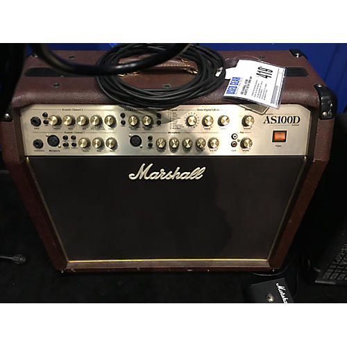 used marshall as100d acoustic guitar combo amp guitar center. Black Bedroom Furniture Sets. Home Design Ideas
