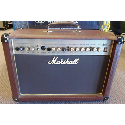 Marshall AS50D 50W 2X8 Acoustic Guitar Combo Amp-thumbnail