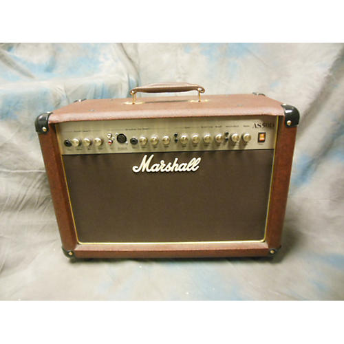 Marshall AS50D 50W 2X8 Brown Acoustic Guitar Combo Amp-thumbnail