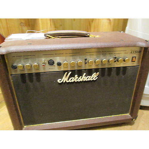 Marshall AS50R 50W 2X8 Acoustic Guitar Combo Amp-thumbnail