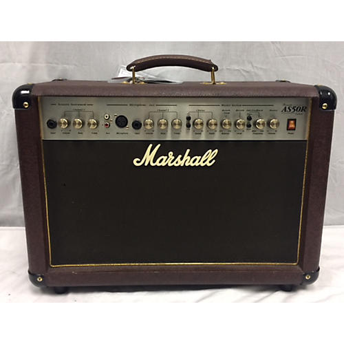used marshall as50r 50w 2x8 acoustic guitar combo amp guitar center. Black Bedroom Furniture Sets. Home Design Ideas