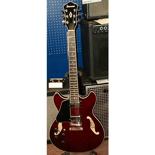 used ibanez as73 artcore left handed trans red hollow body electric guitar guitar center. Black Bedroom Furniture Sets. Home Design Ideas