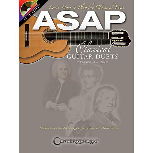 Hal Leonard ASAP Classical Guitar Duets Book/CD-thumbnail