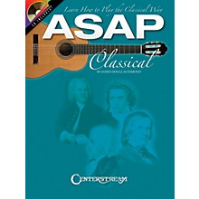 Centerstream Publishing ASAP Classical Guitar Guitar Series Softcover with CD Written by James Douglas Esmond