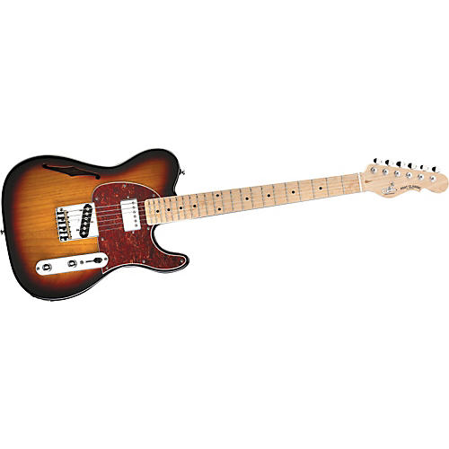 G&L ASAT Classic Bluesboy Semi-Hollow Electric Guitar 3-Color Sunburst
