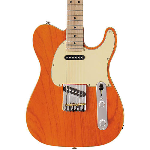 G&L ASAT Classic Electric Guitar Clear Orange