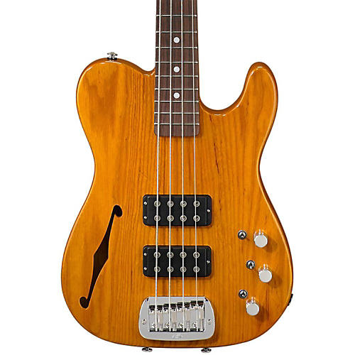 G&L ASAT Semi-Hollow Electric Bass Guitar-thumbnail