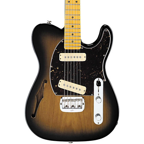 G&L ASAT Special Semi-Hollow Electric Guitar 2-Color Sunburst