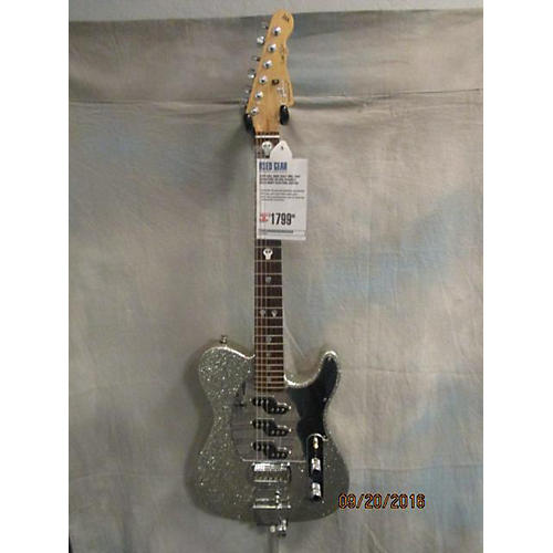 G&L ASAT Will Ray Signature Solid Body Electric Guitar Silver Sparkle