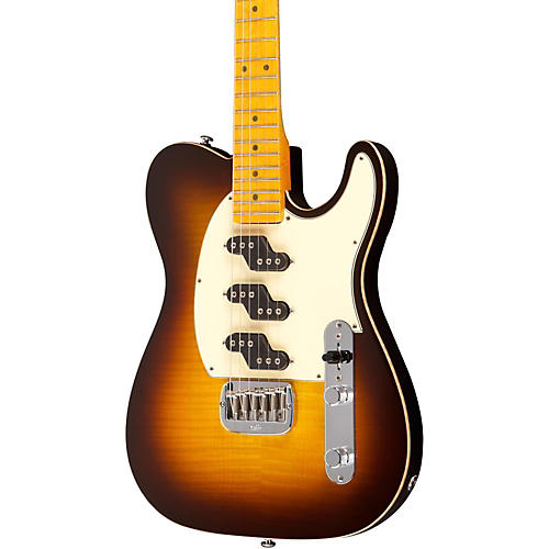 G&L ASAT Z3 Figured Maple Top Guitar Tobacco Sunburst