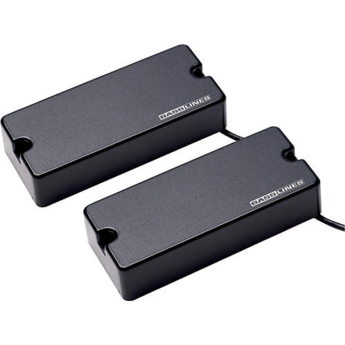 Basslines ASB-BO-4s Blackouts for Bass - Neck and Bridge Set Black