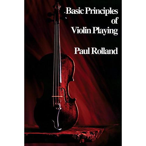 Alfred ASTA Basic Principles of Violin Playing Book-thumbnail