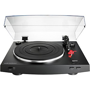 Audio-Technica AT-LP3BK Automatic Belt-Drive Stereo Record Player Turntable by Audio Technica