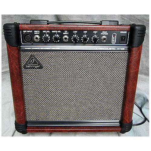 Behringer AT108 1X8 15W Ultracoustic Acoustic Guitar Combo Amp-thumbnail