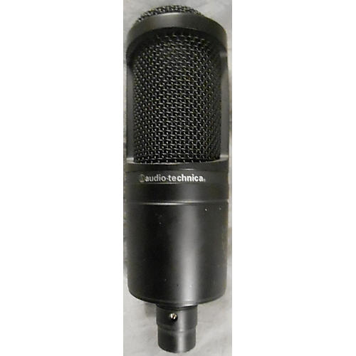 used audio technica at2020 condenser microphone guitar. Black Bedroom Furniture Sets. Home Design Ideas