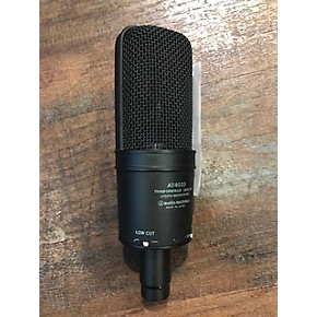 used audio technica at4033cl condenser microphone guitar center. Black Bedroom Furniture Sets. Home Design Ideas