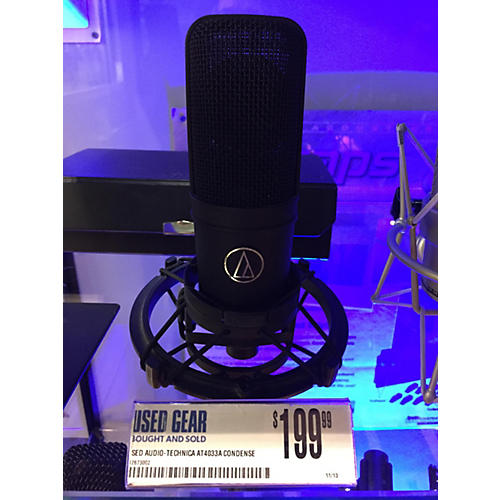 Audio-Technica AT4033a Condenser Microphone-thumbnail