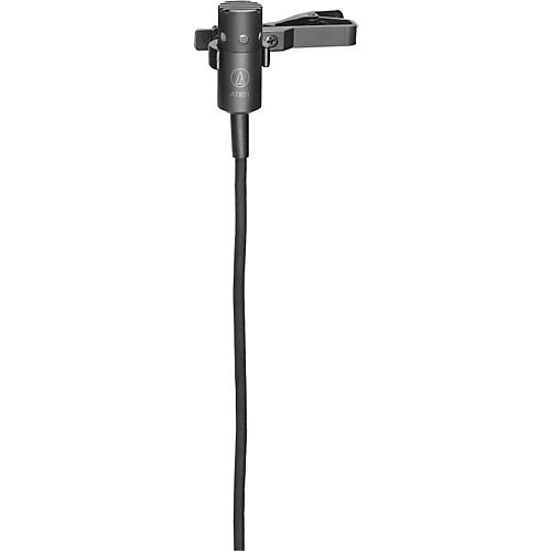 Audio-Technica AT831cT4 Cardioid Condenser lav wired for Shure w/o power supply-thumbnail
