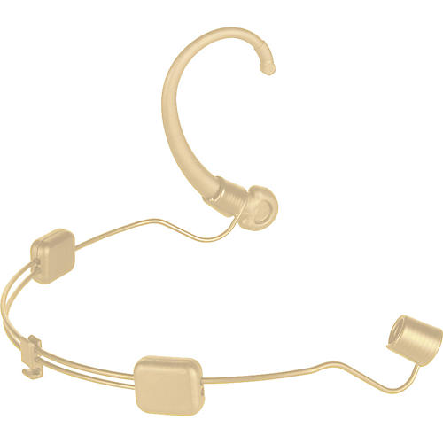 Audio-Technica AT8464-TH Dual Ear Mount for Microset Headworn Mics Beige