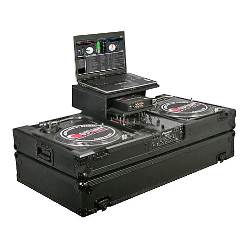 Odyssey ATA Black Label Coffin for Two Turntables and Mixer-thumbnail