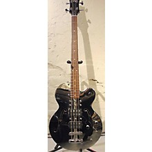 Normandy ATB-CH Chrome Singlecut 4 String Bass 2 Humbuckers Electric Bass Guitar